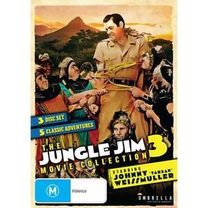 The Jungle Jim Movie Collection Vol 3 (Dvd,Region 4)