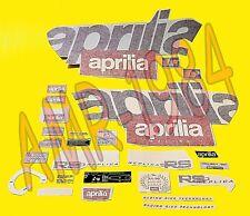 SERIE EMBLEMI COMPLETI APRILIA RS 50 1996 COLORE GRIGIO MIRAGE  AP8237370