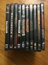 Halloween DVD Collection Complete 1-8 Rob Zombie 1-2