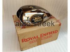 Royal Enfield Classic 500cc BS3 Fuel Petrol Gas Tank Chrome Black