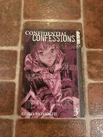 Confidential Confessions Volume 3 English Manga Reiko Momochi Tokyopop FREE SHIP