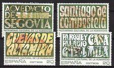 Spain - 1989 Unesco cultureal heritage (II) - Mi. 2918-21 MNH
