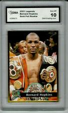 2001 Bernard Hopkins Legends Gold Boxing Rookie Gem Mint 10