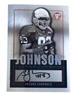 2003 Topps Pristine - Autographs #PE-BJ Bryant Johnson Arizona Cardinals