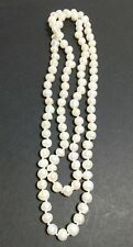 "9-10mm Genuine Cultured Lustrous Freshwater Pearl Endless Necklace 34"" Hang 17"""