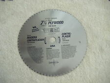 """7 1/4""""150 TOOTH  PLYWOOD CIRCULAR SAW BLADE VERMONT AMERICAN # 26370 MADE IN USA"""