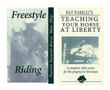 Rare Pat Parelli Natural Horse Training DVD x 2