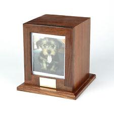 PET Cremazione Ceneri Urn / ASH Casket LEGNO MASSELLO!! - uu540014a