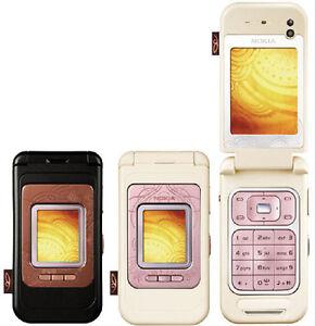 Original NOKIA 7390 3G UMTS 2100 2G GSM 900 / 1800 / 1900 Camera Radio Bluetooth