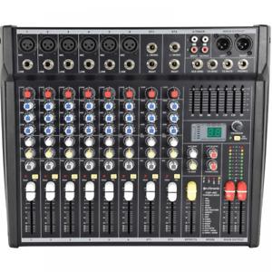 Citronic 10 Channel PA Powered Mixer Amplifier Desk 400w inc Digital Effects FX