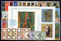 Vatikan 3 Jahrgänge 1971 1972 1973 ** postfrisch MNH Jahrgang Vaticano