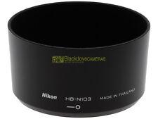 Nikon paraluce HB-N103 per 30/110mm. per Nikon 1 (V1, V2, J1, J2, J3) Originale.