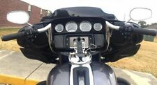 "Paul Yaffe Chrome 8"" Monkey Bagger Bar Handlebar Ape Hanger Harley Batwing Flht"