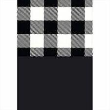 50~Sheets Buffalo Check Tissue Paper~Lg 20x30~Sheets Black Quality Gift Wrap