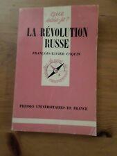 LIVRE LA REVOLUTION RUSSE de COQUIN, QUE SAIS-JE