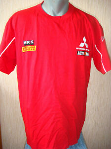 WRC Rally Mitsubishi Motors Ralliart t-shirt (Size L)