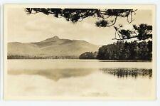 RPPC Mount Chocorua Peak White Mountains NH New Hampshire Real Photo Postcard
