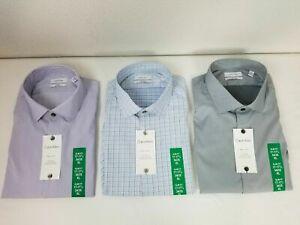 Calvin Kelin Men's Fresh Comfort slim Fit Shirt