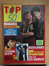 Top 50 n° 55 Niagara/Lazlo/Mas/Cabrel/Lahaye/Bangles/Electrica Salsa