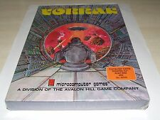 VORRAK by microcomputer games/avalon hill ATARI COMPUTER RARE LIKE THIS SEALED!
