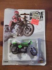 VINTAGE STREET BIKE RIDGE RIDER Die-cast METAL KAWASAKI MACH III MOTORCYCLE