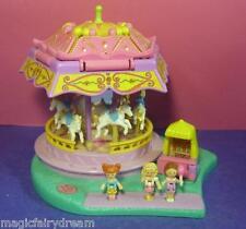 Polly Pocket Mini ♥ Süßes Pferdekarussell ♥ Spin Pretty ♥ 100% Komplett ♥