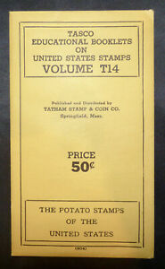 TASCO Educational Booklet The Potato Stamps Tatham Volume T14 With Stamps