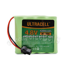 4.8V 1300mAh Ni-MH Rechargeable Battery Pack Cell SM Plug For Toy RC Ultracell