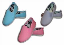 Infants Canvas FLOSSY Flossies LUNA sizes 3-2  (19-34) BARGAIN Mrp £15