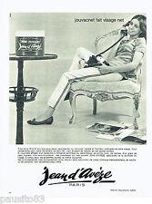 PUBLICITE ADVERTISING 056  1964  Jean d'Avèze   cosmétiques creme Jouvacnet