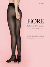 Fiore Cosmopolitan 40 Den, Black Tights, Size 2 1 pk