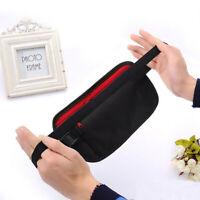 Travel Money Belt Hidden Waist Security Wallet Bag Passport Pouch RFID Holder US