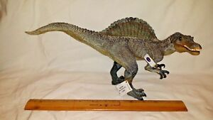 Papo SPINOSAURUS Jurassic Park Dinosaur Toy action figure +tag Movable Jaw 55011