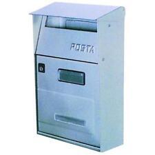Cassetta Per Lettere Inox Alubox Ft-Lettera 22X11x32h Cm