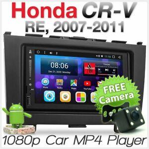 Android Car MP3 Player GPS For Honda CRV 2007 2008 Stereo Radio Fascia Facia Kit