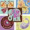 15 Bohemian Sayings Boho Paisley Stickers Party Favors Dream Big Inspire Smile