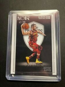 2020-2021 Panini Noir Kevin Love /99 Base Card Cleveland Cavaliers
