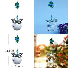 H&D 40 mm Handmade Butterfly Crystal Ball Prism Rainbow Maker Hanging.
