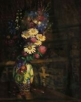 Signed Kaltenegger? Dated 1922 - Still Life With Chamomile