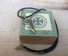 Viking Arrow Pendant Necklace + Rune Box - Celtic, Norse, Thor Hammer, Rune