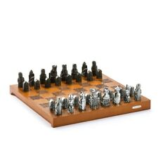 Royal Selangor British Museum Collection Pewter Lewis Chess Set Gift