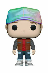Funko Pop! Back to the Future - Marty in Future Outfit Metallic #962