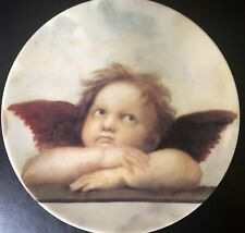 Chateau Valmont Angel Decorative Plate 7 3/4 inches