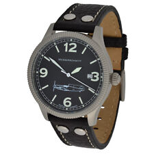 Messerschmitt Quartz Aviateur Watch Unisexe ME109-41S bord lettrage 5ATM