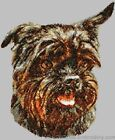 Embroidered Short-Sleeved T-shirt - Affenpinscher DLE1454 Sizes S - XXL