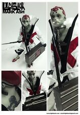 "1/6 lighblack Mark ash "" Dr "" articulate figure 12"" tall ThreeA / 3A collectable"
