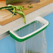 Kitchen Waste Holder Hanging Rubbish Trash Carrier Bin Bag Cupboard Door UK