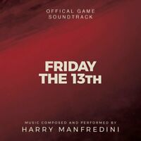 Friday The 13th - 2 x CD Video Game Score - Limited Edition - Harry Manfredini
