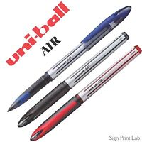 1X UNI-BALL AIR UBA 188L-M 0.7-0.5mm ROLLERBALL PEN-BLK/BLUE/RED WITH MIX & MATH