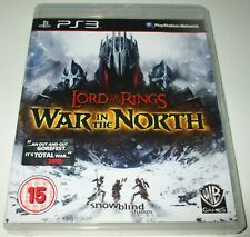 Lord of the Rings * WAR IN THE NORTH * Sony Playstation 3/PS3 RPG Game NEW CASE